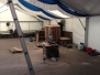 Junggesellenfest Fischenich Aufbau