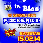 Flyer - Klüngel in Blau 2014