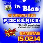Flyer - Klüngel in Blau 2014