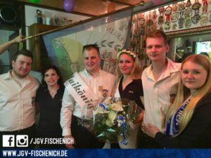 v.l.n.r.: Michael Gatzweiler & Jessica Koller, Kai Maiwald und Jennifer Koch, Lars Adolfs und Jennifer Brauer